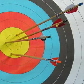 Holmbush-events-archery-target-ring